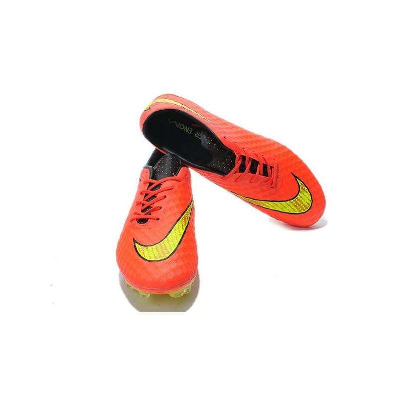 Neymar Da Arancio Calcio Hypervenom Oro Fg Scarpa Nike Phantom SUpzMV
