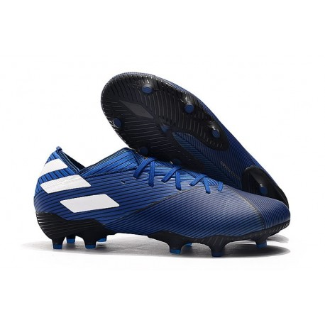adidas Nemeziz 19.1 FG Scarpe Calcio Blu Bianco