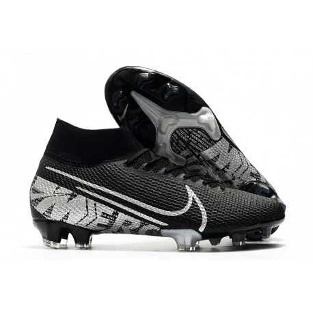 Nike Scarpa Mercurial Superfly 7 Elite SE FG Nero Grigio Cool