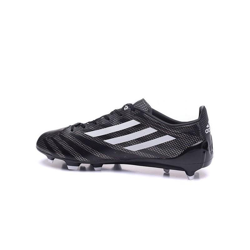 online store 7442b 1a76f Da Calcetto Fg Scarpa Adidas Adizero Bianco Tacchetti Messi Nero F50  uTK1c5Fl3J