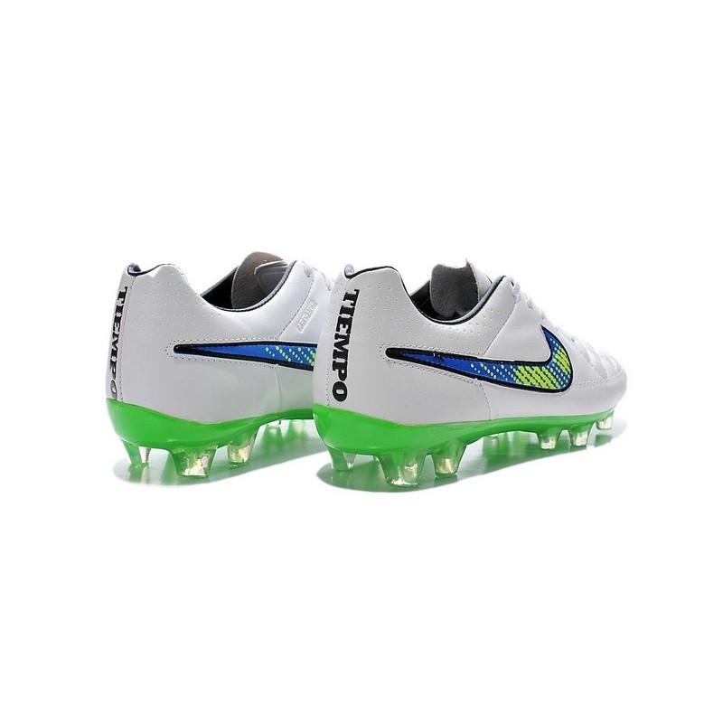 Terreni Tiempo V Scarpa Fg Nike Bianco Duri Verde Da Calcio Per Legend IEDH29