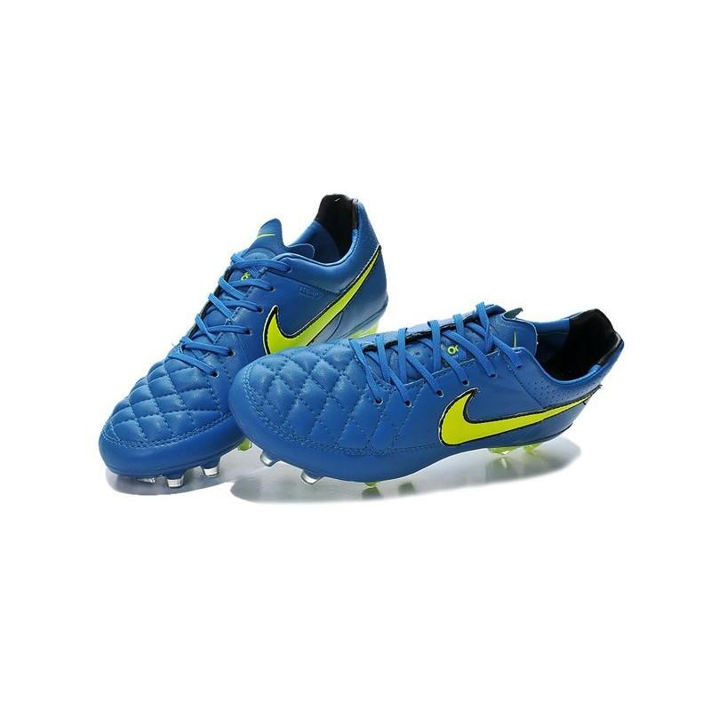 Nike Giallo Fg Tiempo Legend Da Blu Calcio Terreni Scarpa Per Duri V nO0wPk