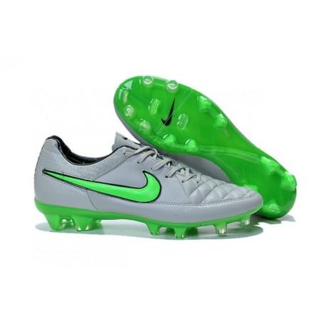sconto selezione speciale di estetica di lusso Nike Scarpe Calcio Tiempo Legend 5 FG Canguro Grigio Verde