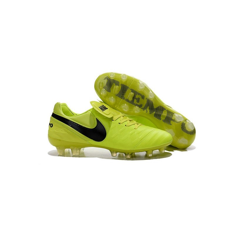 Nero Calcio Legend Pelle Da Tiempo Nuovo Vi Nike Fg Volt Scarpe 2016 IWEDYebH29