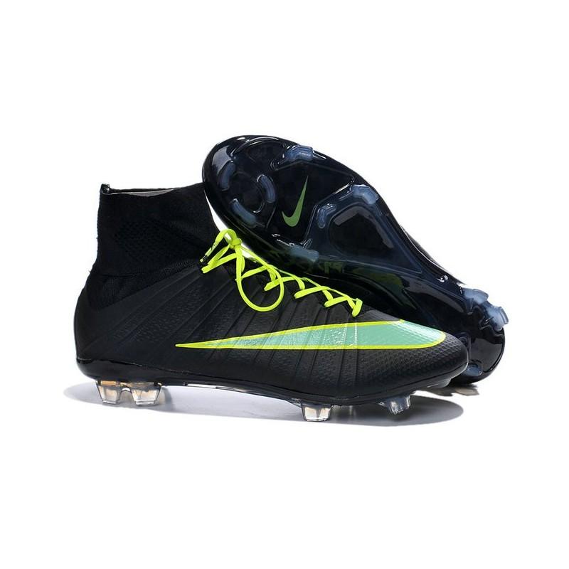 Cristiano Ronaldo Nike Scarpa da Calcio Mercurial Superfly 4 4 Superfly FG Nero   a78f54