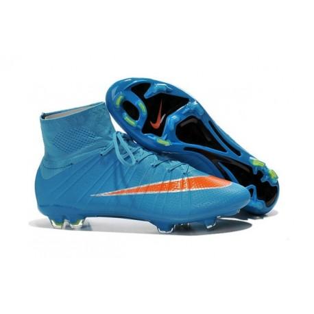 Calcio Superfly Blu Cr7 Arancio Scarpe Nike Fg Nuove Mercurial 2EDIH9