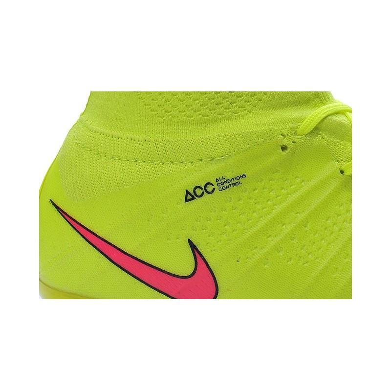 Scarpini Da Nike Superfly Fg Acc Calcio Rosso Mercurial Giallo AL54Rj3