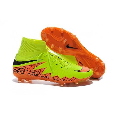 3496e2969c79 Scarpe da Calcio Neymar Nike Hypervenom Phantom II FG ACC Giallo Arancio  Nero