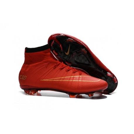 Cristiano Fg Nike Rosso Mercurial Superfly Calcio Da Oro Ronaldo Scarpa 4 TgTZw7qP