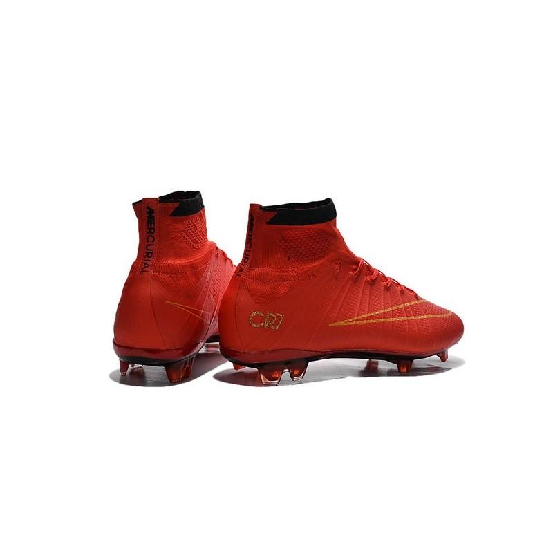 scarpe da calcio di cristiano ronaldo Rosso