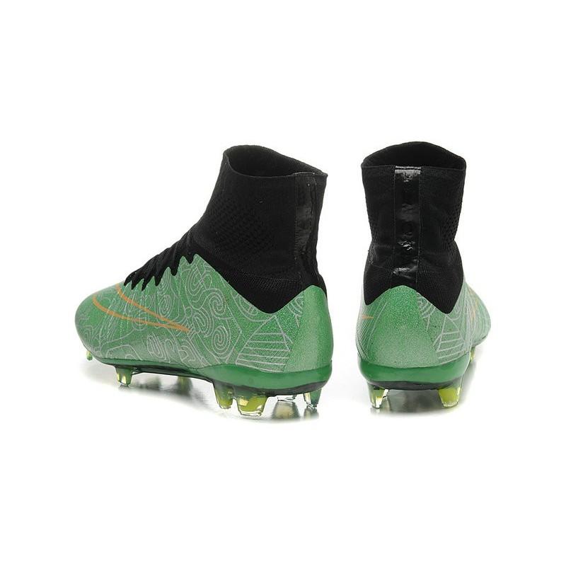 Nero Nike Verde Scarpe Superfly Cr7 Calcio Mercurial Fg Oro Nuove BoQCxeWrd
