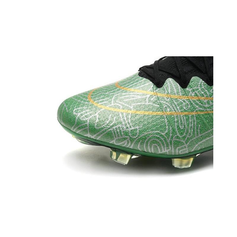 Mercurial Scarpe Oro Nero Calcio Superfly Cr7 Nuove Nike Verde Fg xeQCodErBW