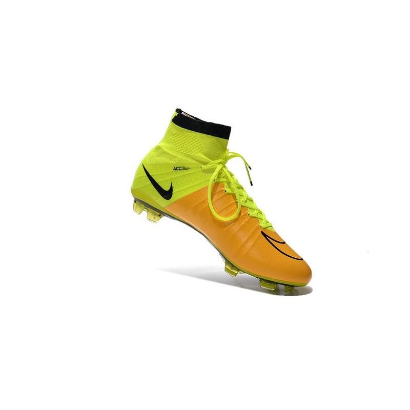 Mercurial Fg Pelle Ronaldo Giallo Scarpa Nike Superfly Volt 4 PXZlwOkuTi