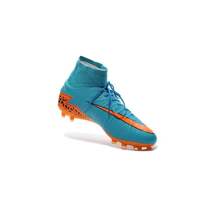 wholesale dealer e48b9 45f51 Scarpe da Calcio Neymar Nike Hypervenom Phantom II FG ACC Blu Arancione Nero