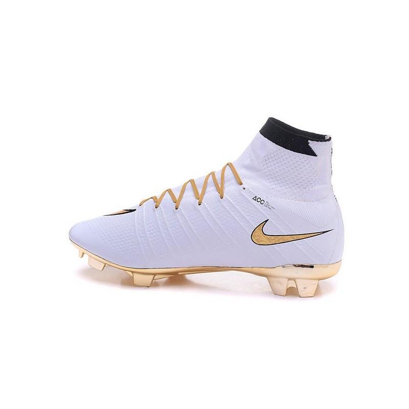 Scarpa Nike Oro Mercurial Ronaldo Superfly 4 Fg Bianco 7fYb6gyv