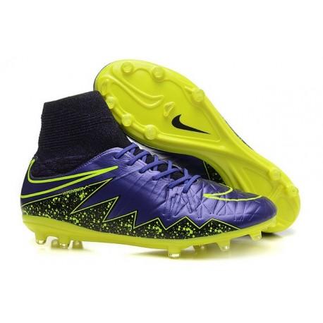 c28d32797 Scarpe da Calcio Neymar Nike Hypervenom Phantom II FG Electro Flare Pack  Viola