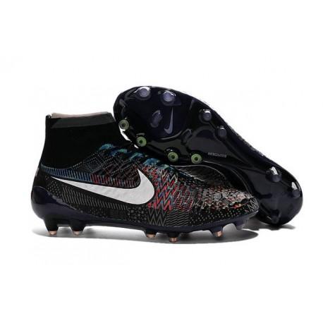 Nike Magista Obra Tech FG Nuove Scarpe Calcio-BHM Nero