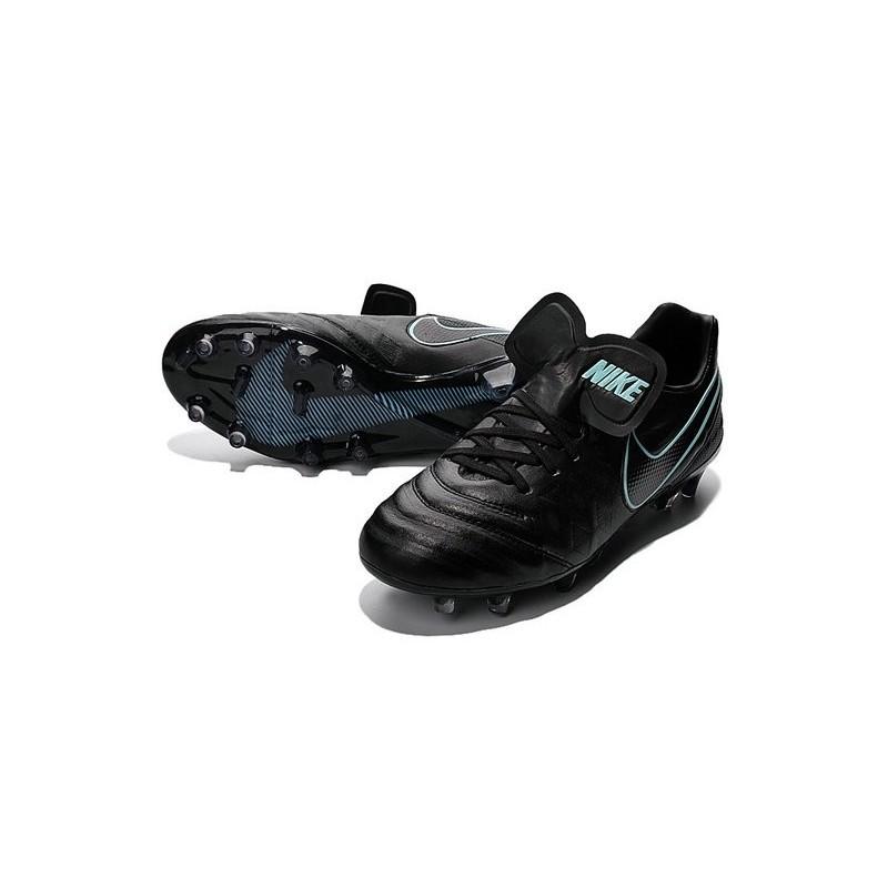 Acc Calcetto Scarpini Legend Nike Tiempo Uomo Nero Blu 6 Fg Da n0OP8wk