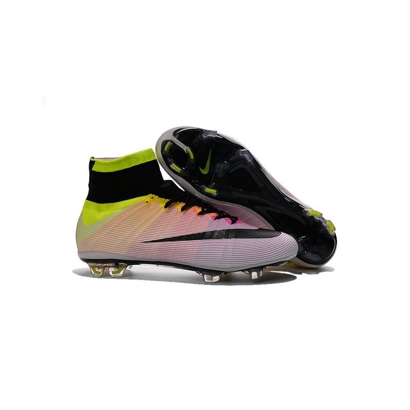 nike mercurial superfly iv fg bianche