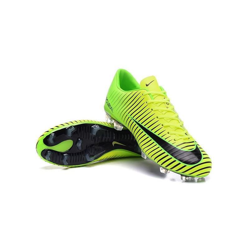 Calcio Nero Nike Vapor 2016 Da Acc Fg Nuovo Mercurial Scarpe Verde Xi rCBodxeW