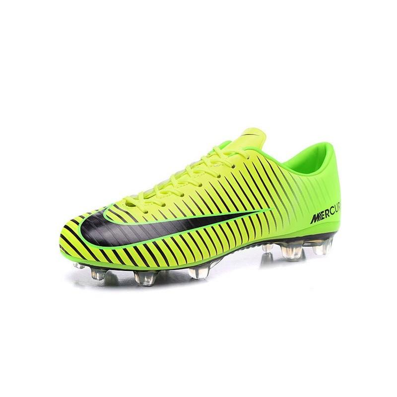 Calcio Scarpe 2016 Nike Xi Verde Nero Mercurial Da Nuovo Fg Acc Vapor FJTK1cl