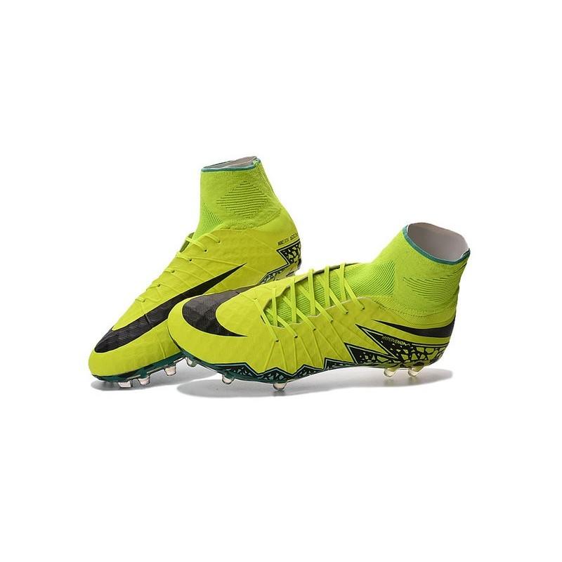 Giallo 2016 Fg Scarpe Nero Nike Hypervenom Da Phantom Calcio 2 Uomo l1TFcuKJ35