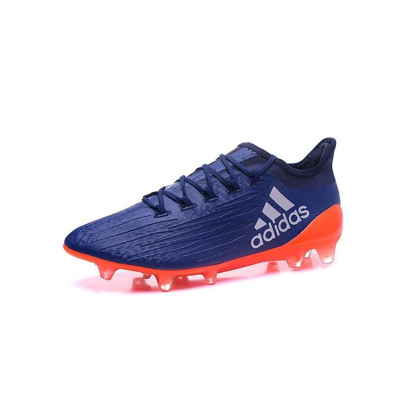 Scarpe da Calcetto Adidas X 16.1 FG Zaffiro Arancio