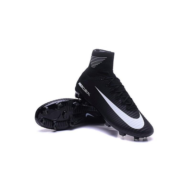 Scarpe da Calcio Cristiano Ronaldo Superfly Nike Mercurial Superfly Ronaldo V FG Nero   9f3fab
