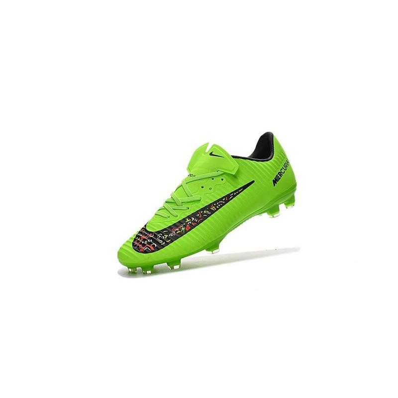 Scarpini Fg Nero Calcio Vapor Nike Verde 11 Mercurial Da y8OvN0mnw