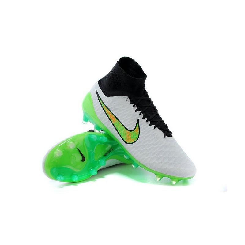 Fg Scarpe Verde Nike Da Calcetto Acc Obra Tech Magista Nero Bianco q7qBZ