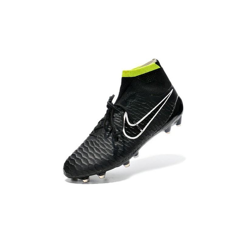 separation shoes 4899a 4a38e Nike Scarpe da Calcio Uomo Magista Obra FG ACC Nero Verde