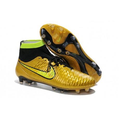 Magista Da Nike Fg Oro Nero Obra Scarpe Tech Calcetto Acc TqdwgtC