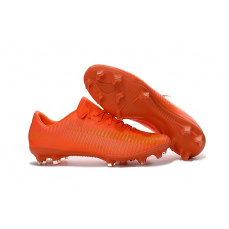 Nike Mercurial Vapor 11 FG Scarpini da Calcio Arancio