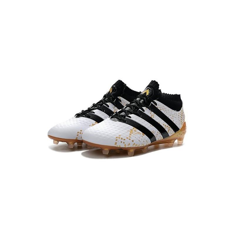 wholesale dealer 70b4e 511df adidas ACE 16.1 FG Scarpe da Calcio Uomo Bianco Oro Nero Vedi a schermo  intero. Precedente. Successivo