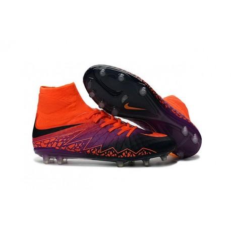 Hypervenom Viola Scarpe Nike Phantom Fg Ii Rossa Nero 7bf6gYyv