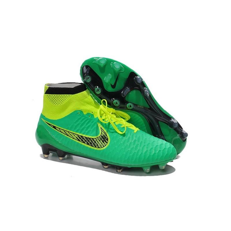 8ed6b86297 Nike Nike Volt Scarpe ACC Obra Tech Calcetto Nero da Magista Verde FG  r1EvHqrxw