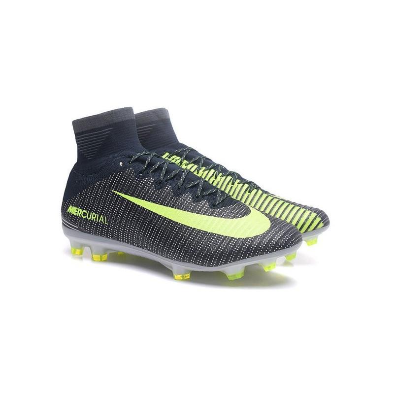 Calcio Nike 5 Superfly Da Verde Acc Cr7 Scarpe Fg Nero Mercurial KuTF3l1cJ