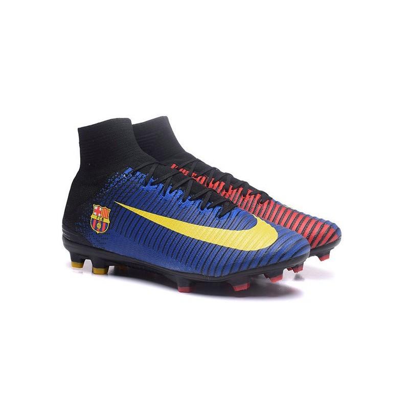 Calcio Acc Barcelona Rosso Da Fg Fc 5 Nike Mercurial Superfly Blu Scarpe Tqp5fxZZ