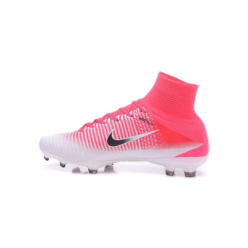 competitive price 2dc9e bd74a Nike Mercurial Superfly V FG Scarpa Calcio Rosa Bianco Nero