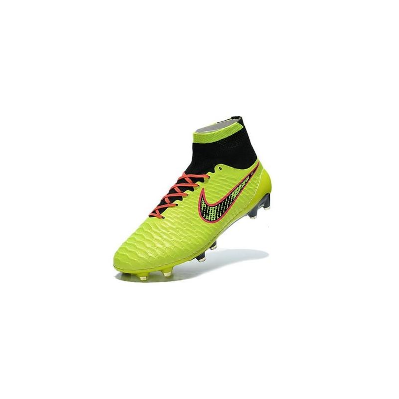 Uomo Arancio Nero Obra Verde Fg Scarpa Nike Calcetto Nuovo Magista T3KuJl1Fc