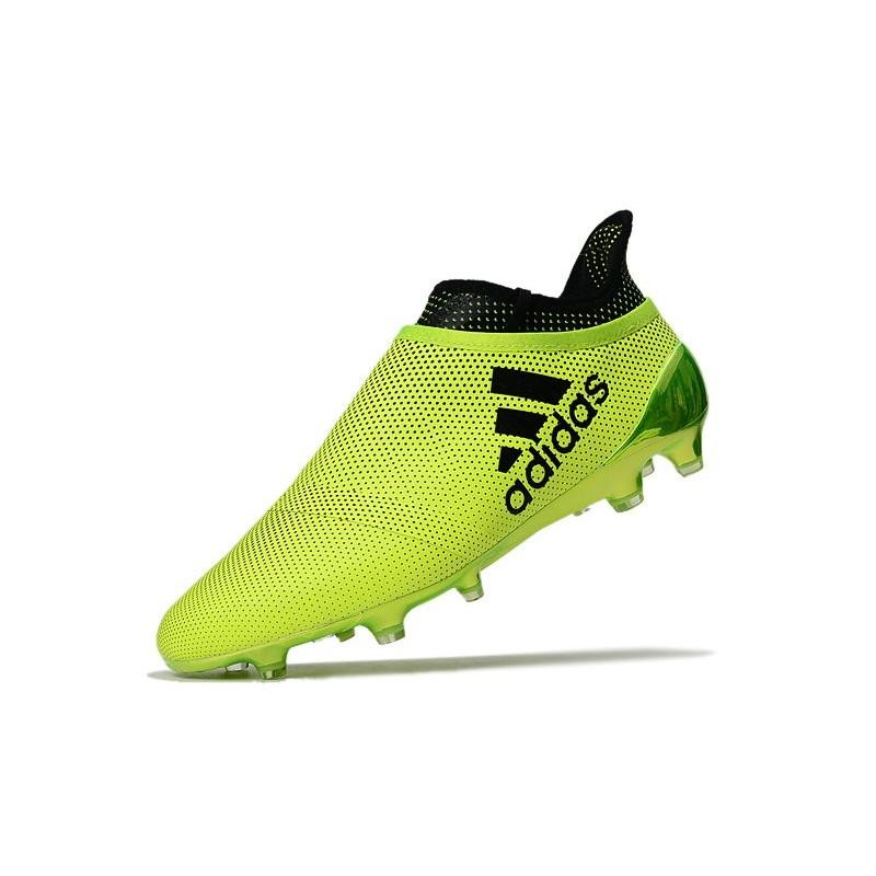 Scarpe da Calcio Uomo adidas Adidas X 17 Purespeed FG - Verde Vedi a schermo intero. Precedente. Successivo