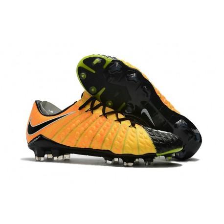 Scarpe Nike Fg Calcio Hypervenom Nuove Jaune Noir Phantom 3 CoxderB