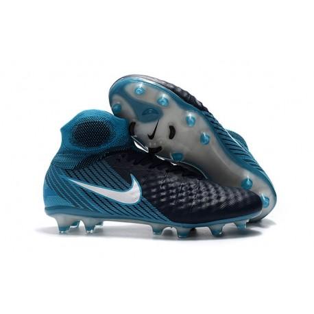 Nike Magista Obra II FG Scarpa da Calcio Nero Blu