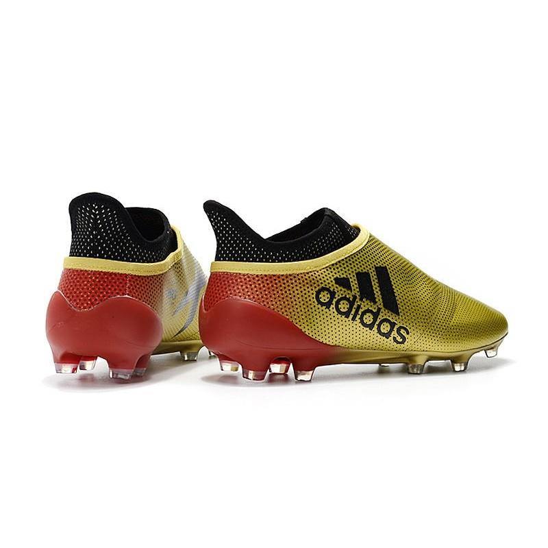 Migliori Scarpe Da Calcio Adidas X 17+ Purespeed FG Bianco Rosso