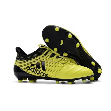 newest 091e3 dc039 Adidas X 17.1 FG - Scarpe da Calcetto Con Tacchetti - Giallo Nero