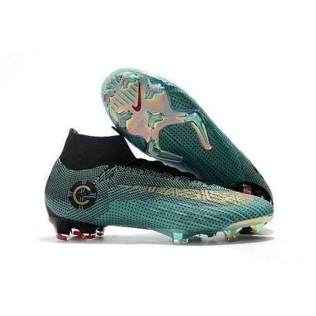 Cristiano Ronaldo Nike Scarpe Mercurial Superfly FG 6 Elite FG Superfly CR7 Blu Oro 21ba98