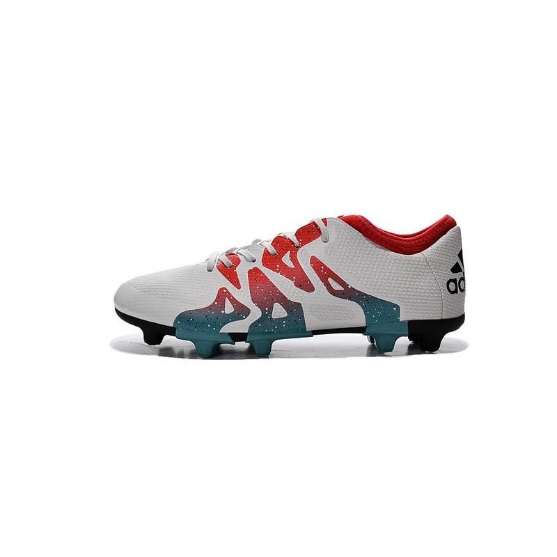 promo code 53f7a 8a64d ... uk scarpa calcetto adidas x 15.1 fg ag uomo bianco rosso blu a81b7  49b63 ...