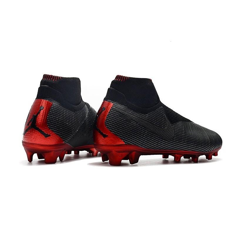 Nero Rosso Jordan Nike Phantom Vsn Scarpa Psg Elite Df Calcio Fg X CxoedBWr