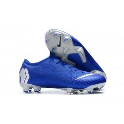 Nuovo Scarpa Nike Mercurial Vapor XII 360 Elite FG - Blu Argento