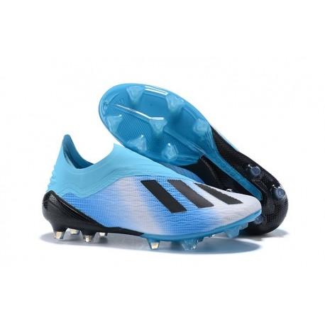 promo code cf790 e35d8 adidas X 18+ FG Scarpe da Calcio - Blu Nero